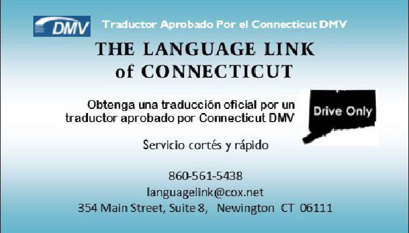 Traductor aprobado por el DMV Connecticut